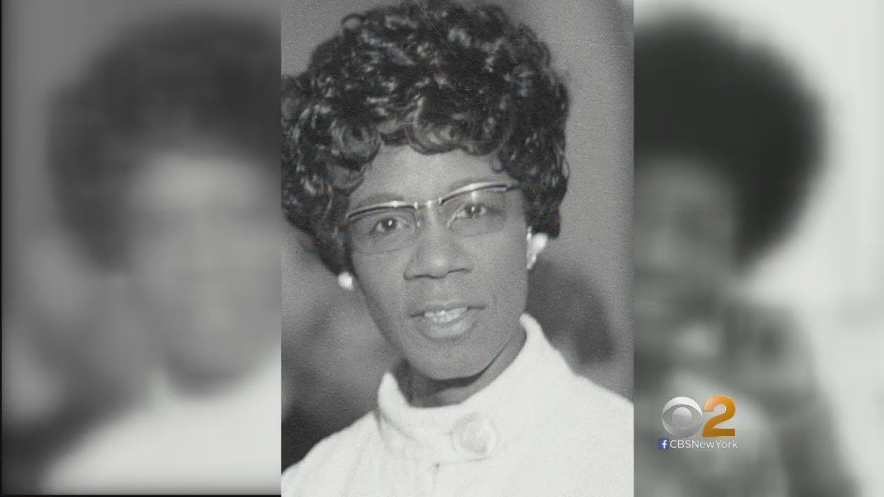 NYC Plans Monument To Honor Shirley Chisholm