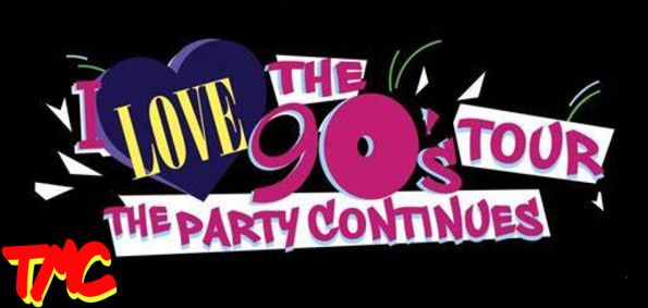 I Love the 90's Tour...The Party Continues with TLC, Naughty By Nature Montell Jordan and more.